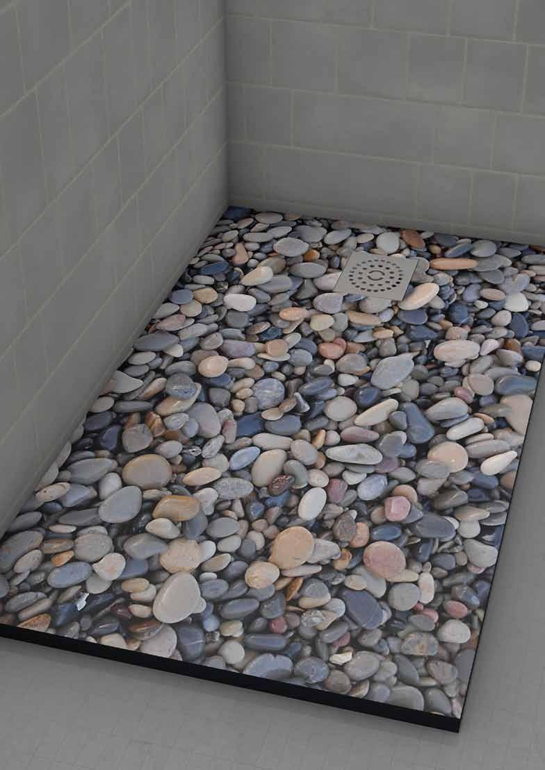 Platos de ducha almacenes revilla for Duchas rusticas piedra